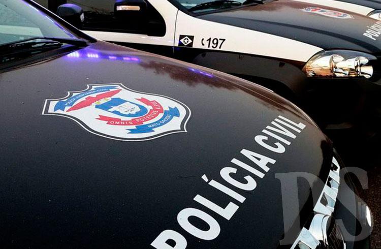 Polícia Civil procura o suspeito